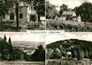 AK / Ansichtskarte Wilthen Waldgaststaette Jaegerhaus  Wilthen