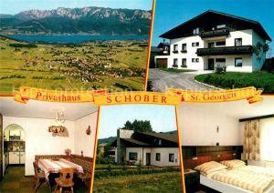 AK / Ansichtskarte St_Georgen_Attergau Privathaus Schober  St_Georgen_Attergau