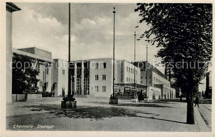AK / Ansichtskarte Chemnitz Stadtbad Chemnitz