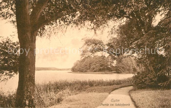 AK / Ansichtskarte Eutin Schlosspark Eutin