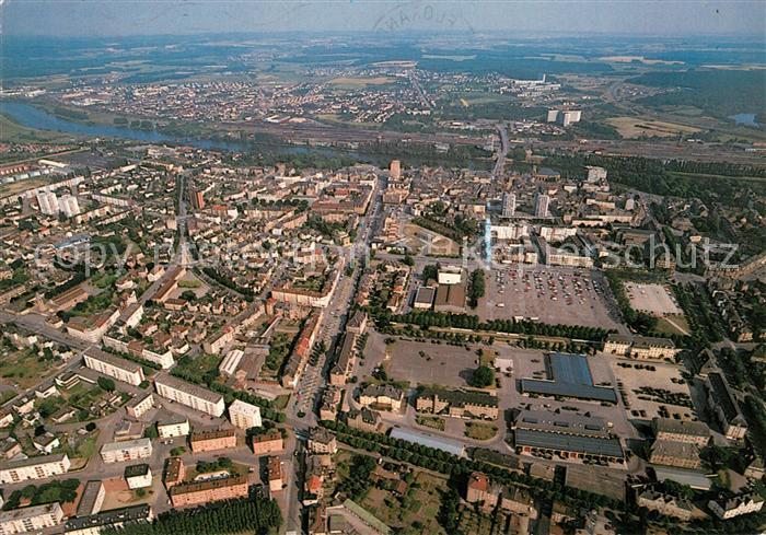 AK / Ansichtskarte Thionville Fliegeraufnahme Thionville