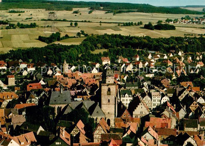 AK / Ansichtskarte Alsfeld Fliegeraufnahme Alsfeld
