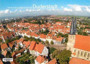 AK / Ansichtskarte Duderstadt Fliegeraufnahme Duderstadt