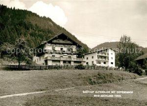 AK / Ansichtskarte Aschland Gasthof Pension Alpenblick mit Dependance