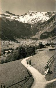 AK / Ansichtskarte Adelboden Blick auf Steghorn und Wildstrubel Adelboden