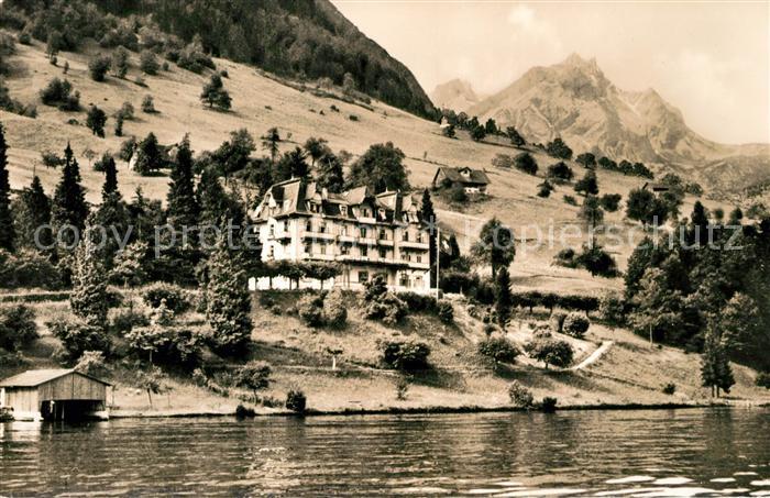 AK / Ansichtskarte Buergenstock Hotel Wilhelm Tell Buergenstock