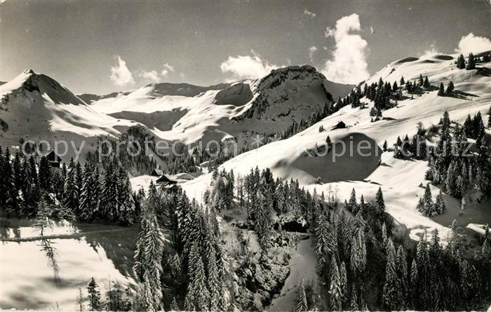 AK / Ansichtskarte Stoos_SZ Skigebiet Stoos_SZ