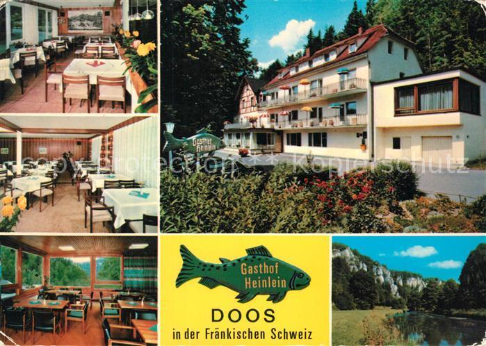 AK / Ansichtskarte Doos_Forchheim Gasthof Heinlein Doos Forchheim