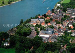 AK / Ansichtskarte Kaiserswerth St. Suitbertus Basilika Fliegeraufnahme Kaiserswerth