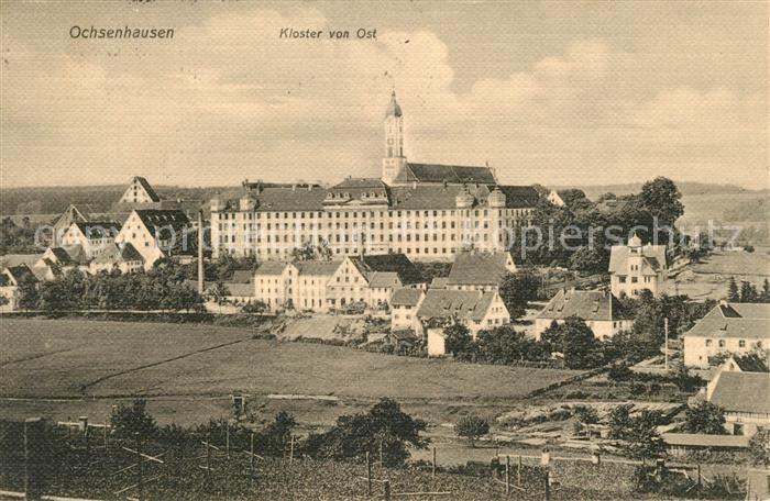 AK / Ansichtskarte Ochsenhausen Kloster von Ost Ochsenhausen