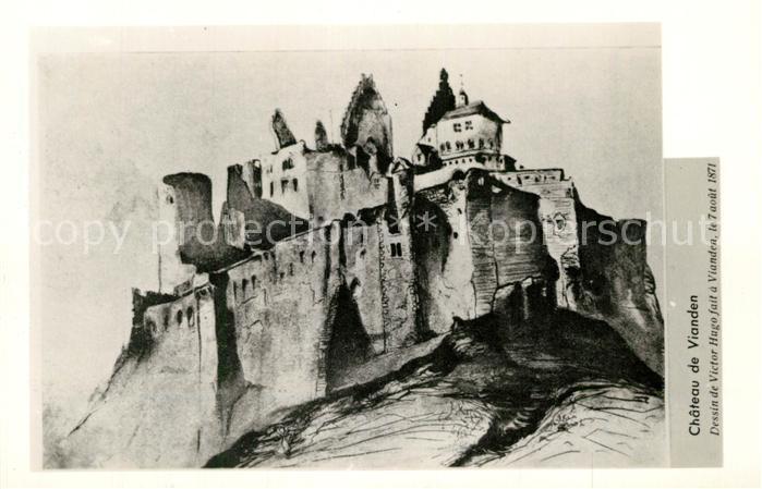 AK / Ansichtskarte Vianden Chateau Vianden