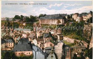 AK / Ansichtskarte Luxembourg Ville Basse du Grund et Ville haute Luxembourg