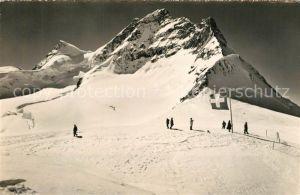 AK / Ansichtskarte Jungfraujoch Gipfelblick Jungfraujoch