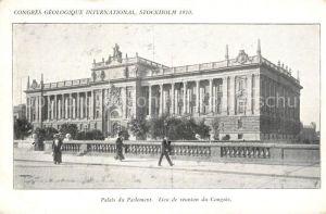 AK / Ansichtskarte Stockholm Palais du Parlement  Stockholm