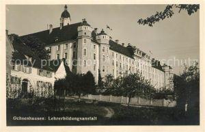 AK / Ansichtskarte Ochsenhausen Lehrerbildungsanstalt Ochsenhausen