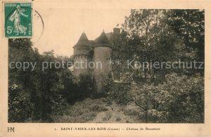AK / Ansichtskarte Saint Yrieix les Bois Chateau de Beaumont Saint Yrieix les Bois