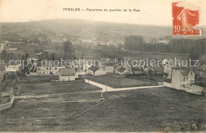 AK / Ansichtskarte Presles en Brie Quartier de la Rue Presles en Brie