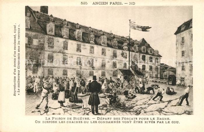 AK / Ansichtskarte Paris La Prison de Bicetre Paris