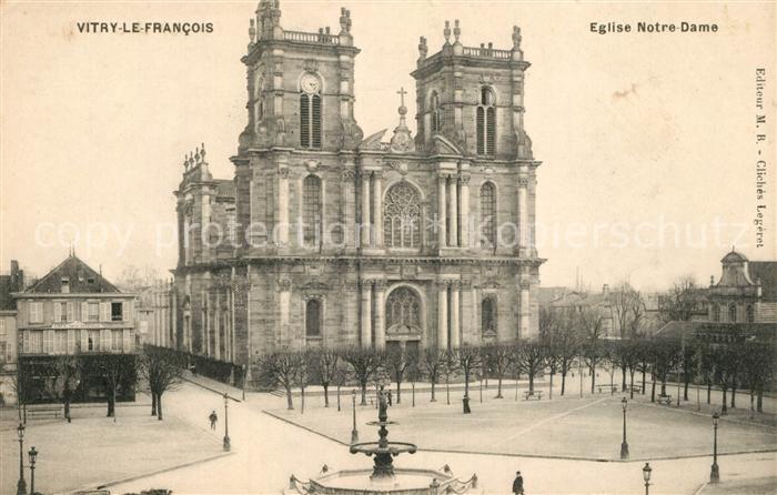 AK / Ansichtskarte Vitry le Francois Eglise Notre Dame Vitry le Francois