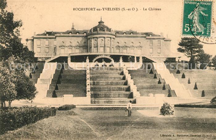 AK / Ansichtskarte Rochefort en Yvelines Chateau Rochefort en Yvelines