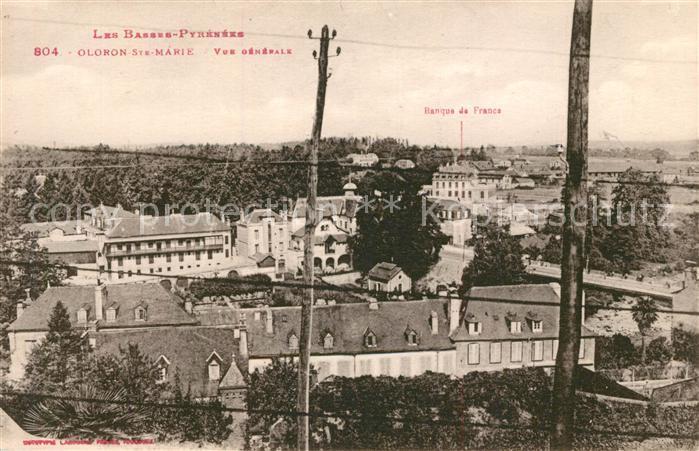 AK / Ansichtskarte Oloron Sainte Marie Vue generale Oloron Sainte Marie