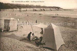 AK / Ansichtskarte Saint Palais sur Mer La Plage de Nauzan Saint Palais sur Mer