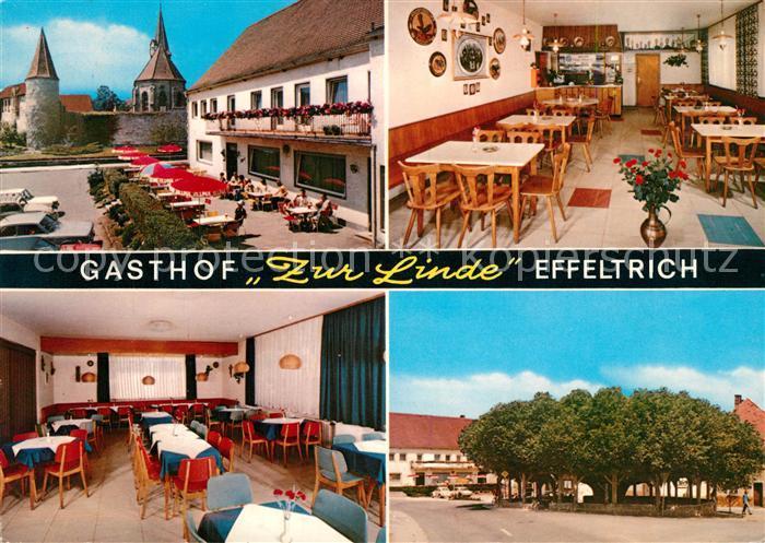 AK / Ansichtskarte Effeltrich Gasthof Zur Linde  Effeltrich