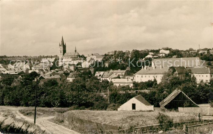 AK / Ansichtskarte Tachov Panorama Tachov