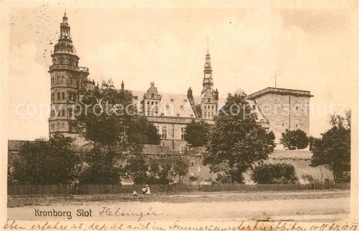 AK / Ansichtskarte Kronborg Slot Kronborg