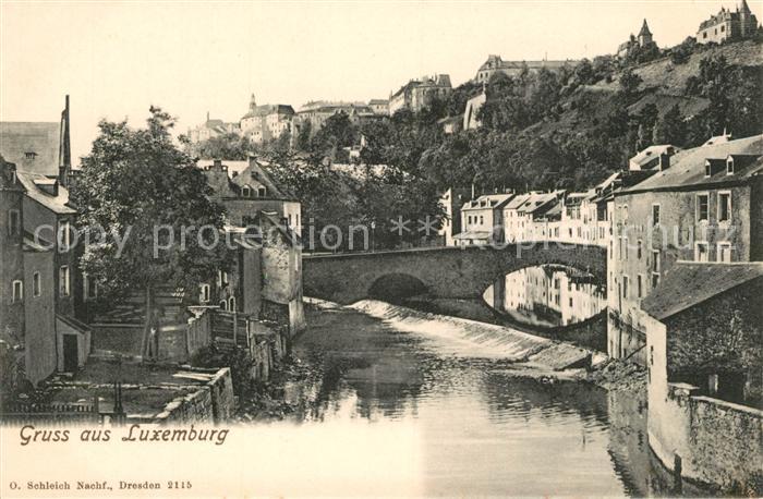 AK / Ansichtskarte Luxembourg Grand Duche de Luxembourg Luxembourg
