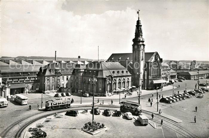 AK / Ansichtskarte Luxembourg La Gare Centrale Luxembourg