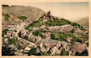 AK / Ansichtskarte Vianden Vue prise de la route de Diekirche Vianden