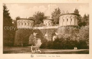 AK / Ansichtskarte Luxembourg Les Trois Glands Luxembourg