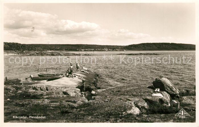 AK / Ansichtskarte Alingsas  Kaerradal Havsbadet Alingsas