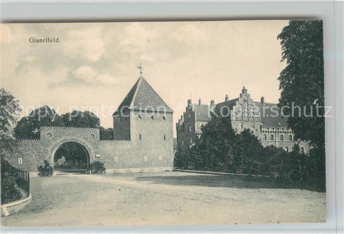 AK / Ansichtskarte Gisselfeld Kloster Torbogen Gisselfeld