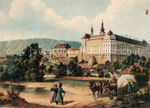 AK / Ansichtskarte Braunau_Tschechien Schloss Braunau Tschechien
