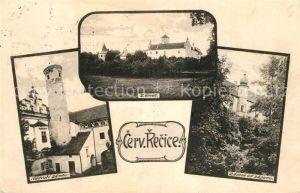 AK / Ansichtskarte Cervena_Recice  Schloss  Cervena Recice
