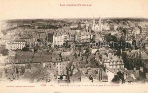 AK / Ansichtskarte Pau Vue prise du Clocher Saint Martin Pau