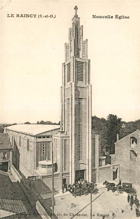 AK / Ansichtskarte Le_Raincy Nouvelle Eglise Le_Raincy