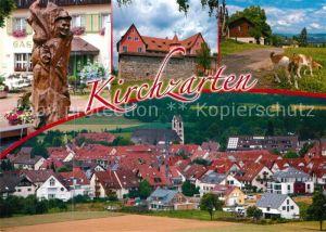 AK / Ansichtskarte Kirchzarten Gasthaus Brunnen Ortsansicht Kirchzarten