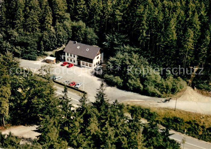 AK / Ansichtskarte Gruenenplan Waldgaststaette Cafe Roter Fuchs Fliegeraufnahme Gruenenplan