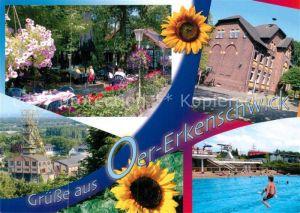AK / Ansichtskarte Oer Erkenschwick Park Schwimmbad  Oer Erkenschwick