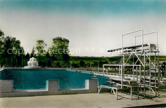 Ak ansichtskarte mondorf les bains partie du parc et la for Piscine mondorf
