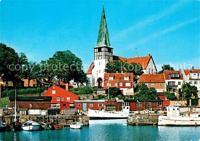 AK / Ansichtskarte Bornholm Ronne Kirke Bornholm