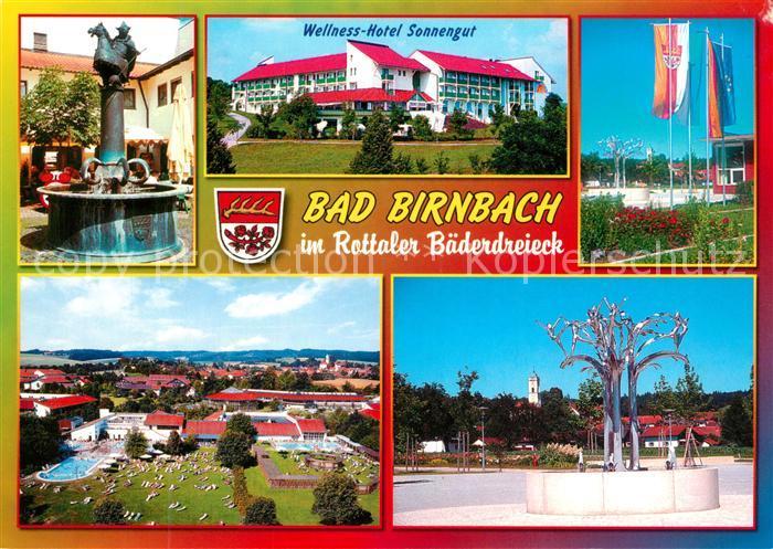 Hotel Sonnengut ak ansichtskarte bad birnbach brunnen wellness hotel sonnengut