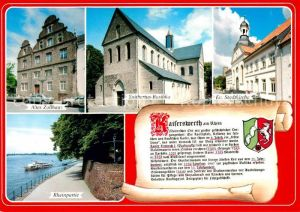 AK / Ansichtskarte Kaiserswerth Altes Zollhaus Suitbertus Basilika Ev Stadtkirche Rheinpartie Kaiserswerth