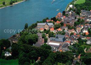 AK / Ansichtskarte Kaiserswerth St Suitbertus Basilika Fliegeraufnahme Kaiserswerth