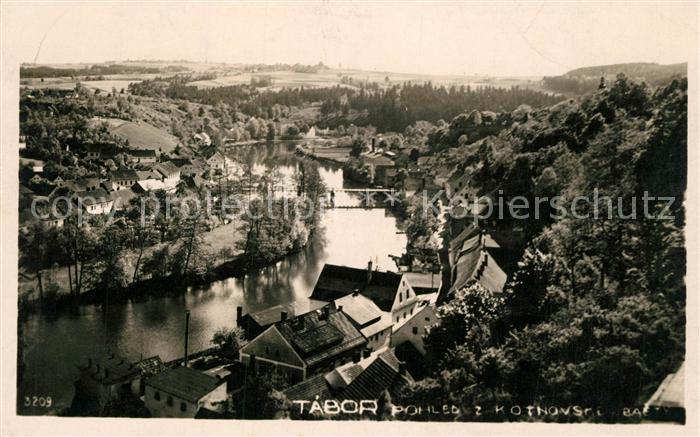 AK / Ansichtskarte Tabor Flusspartie Tabor
