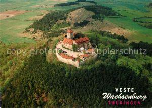 AK / Ansichtskarte Wachsenburg Fliegeraufnahme Veste Wachsenburg