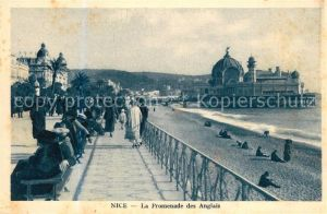 AK / Ansichtskarte Nice_Alpes_Maritimes Promenade des Anglais et Jetee Promenade Nice_Alpes_Maritimes
